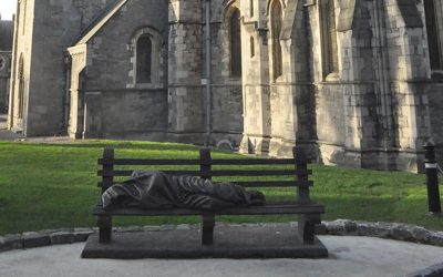 Would I sit with Homeless Jesus?