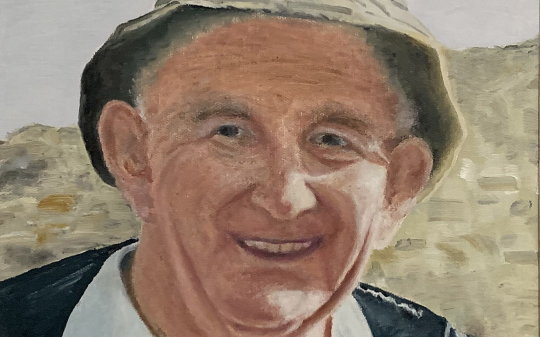 Oil painting of Father John Wallis