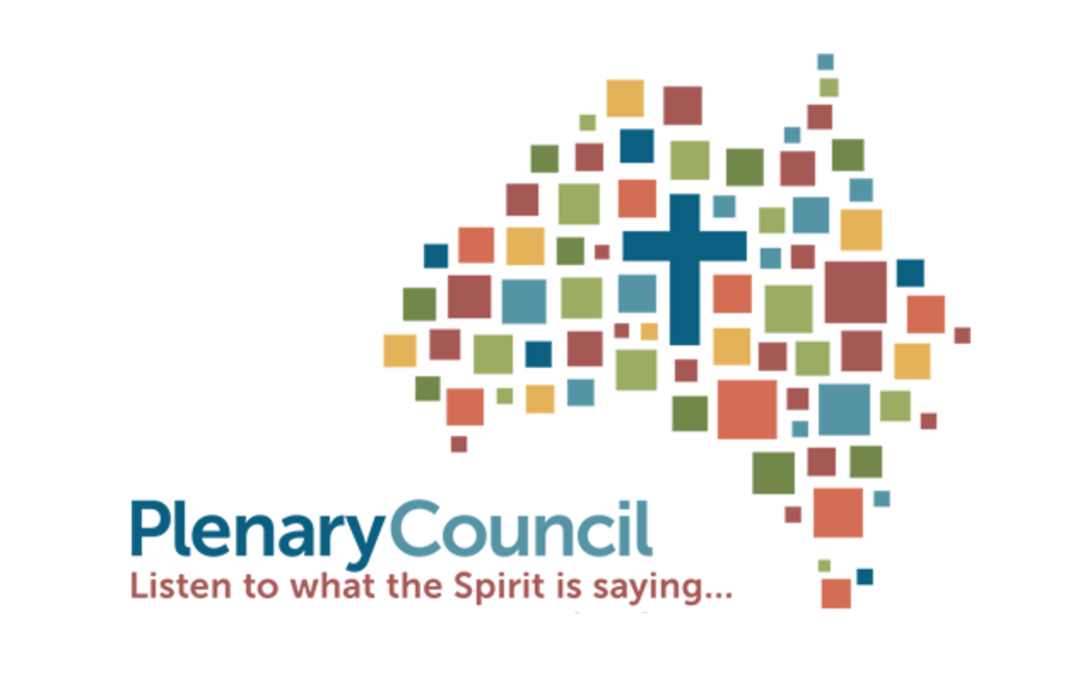 Praying for all involved in Australia's Plenary Council